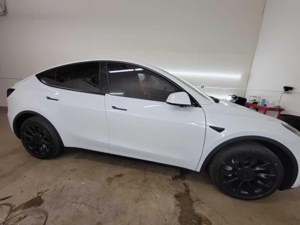 Tesla Model Y tinted by OC Tintz